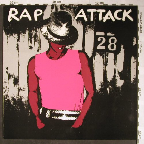 V.A.Rap Attack: Grand Master Flash...Sugarhill Gang, SOS Record(SOSLP-103), S, 1982 - LP - H5503 - 9,00 Euro