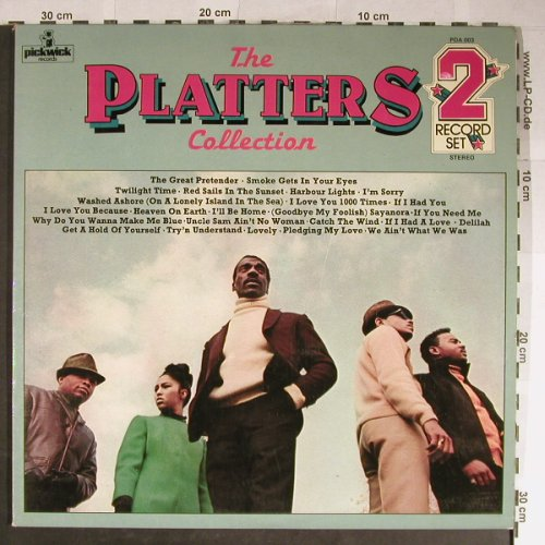 Platters: The Collection, Foc, Pickwick(PDA 003), UK,Ri,  - 2LP - H5575 - 7,50 Euro
