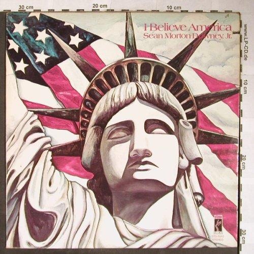 Downey,Jr., Sean Morton: I Believe America, m-/vg+, Stax(STS-5510), US, CO, 1974 - LP - H5610 - 6,00 Euro