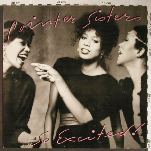 Pointer Sisters: So Excited!, Planet(FL 14355), D, 1982 - LP - H5617 - 5,50 Euro