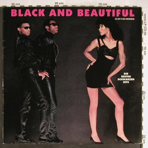 V.A.Black And Beautiful: Ice MC...Bridgett Grace, Polystar(845 531-1), D, 1991 - LP - H6359 - 5,00 Euro