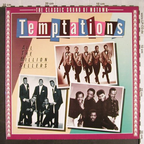 Temptations: All The Million Sellers, Motown(WL 72096), D, Ri, 1981 - LP - H727 - 6,00 Euro