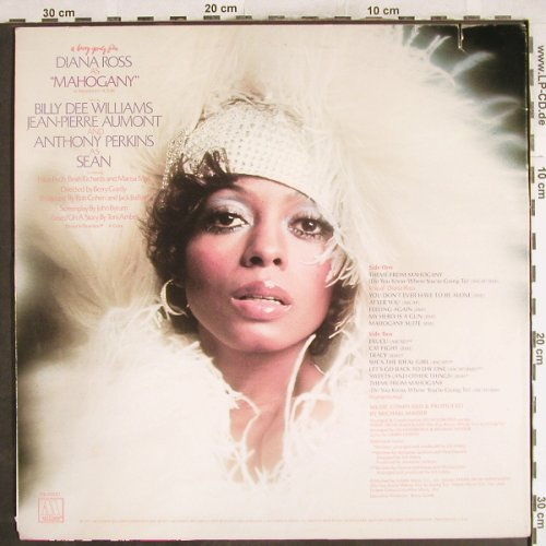 Ross,Diana & Supremes: As Mahogany, OST, Motown(M6-858S1), US, Co, 1975 - LP - H7280 - 7,50 Euro