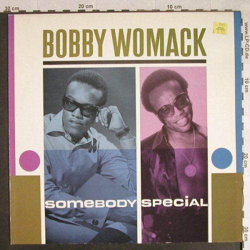 Womack,Bobby: Somebody Special, Stateside(EG 26 0250 1), UK, Ri, 1984 - LP - H741 - 7,50 Euro