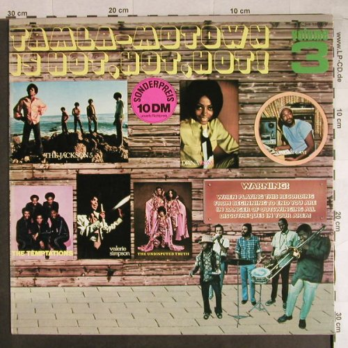 V.A.Tamla-Motown Vol.3: is Hot,Hot,Hot!,14Tr.,Foc, Motown(048-93342), D, 1973 - LP - H822 - 7,50 Euro