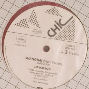 Marrow,Lee: Shanghai*2,short,wxt., orange vinyl, Chic(6.20433), D, 1987 - 12inch - H8449 - 2,50 Euro