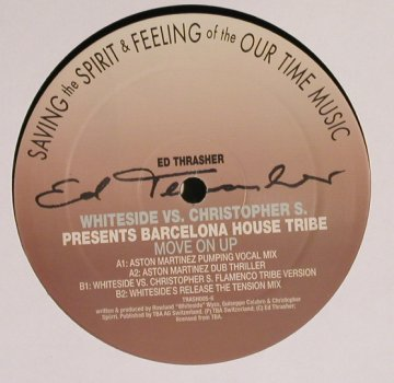 Whiteside vs Christopher S.: Barcelona House Tribe, Intergroove(Trash005-6), D, 2000 - 12inch - H8455 - 4,00 Euro