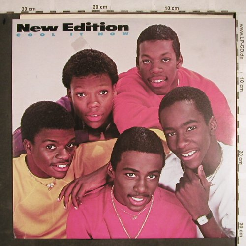 New Edition: Cool It Now(dub+1), MCA(259 235-0), D, 1984 - 12inch - H8505 - 2,00 Euro
