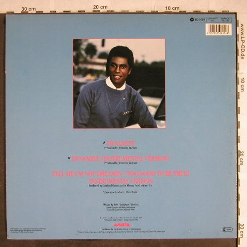 Jackson,Jermaine: Dynamite*2/Tell me I'm not ..*2, Arista(601 451-213), D, 1984 - 12inch - H8603 - 3,00 Euro
