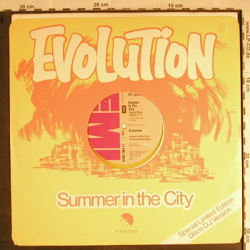 Evolution: Summer in the City*2,yellow vinyl, EMI(12 EMI 2849), UK, m-/vg+, 1978 - 12inch - H8766 - 3,00 Euro