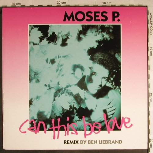 Moses P.: Can this be love/tEnd,rmx Liebrand, Logic(612 420), D, 1989 - 12inch - H8776 - 4,00 Euro