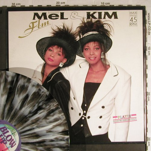 Mel & Kim: F.L.M.*3,Coloured Vinyl, Blow Up(INT 125.593), D, 1987 - 12inch - H8783 - 2,50 Euro