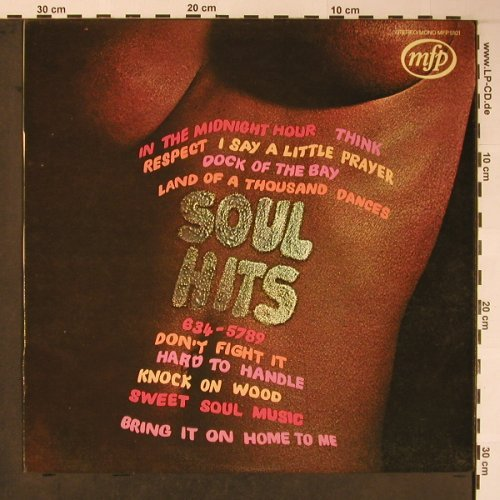 V.A.Soul Hits: 12 Tr.Cover-Versions,unknown Artist, MFP(MFP 5101), D/NL,  - LP - H8877 - 5,00 Euro