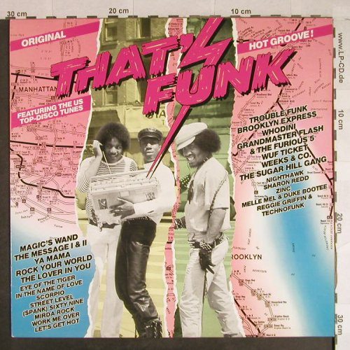 V.A.That's Funk: Hot Groove !,15 Tr., Teldec(6.25470 AP), D, 1983 - LP - H891 - 6,00 Euro