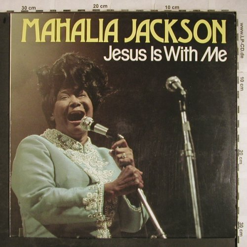 Jackson,Mahalia: Jesus Is With Me, stoc, Astan(20081), D,  - LP - H9244 - 4,00 Euro