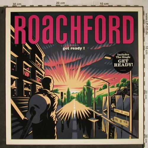 Roachford: Get Ready!, Columbia(468136 1), UK, 1991 - LP - H9338 - 6,00 Euro