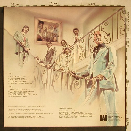 Hot Chocolate: Same, EMI(C 062-96 862), D, 1975 - LP - H9469 - 7,50 Euro