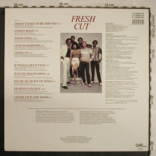 Rose Royce: Fresh Cut, Chic(6.26435 AP), D, 1987 - LP - H9612 - 5,50 Euro
