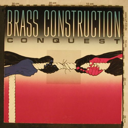 Brass Construction: Conquest, Capitol(24 0391 1), NL, 1985 - LP - H9618 - 5,00 Euro
