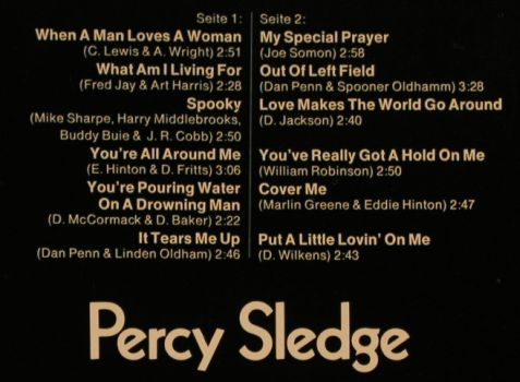 Sledge,Percy: Star-Collection, Midi(20 019), D,  - LP - H9639 - 5,00 Euro