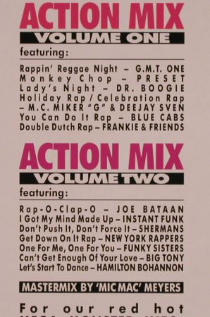 "V.A.Action Mix: Vol.1+2, picture disc, BCM(B.C.33-2088-45), D,  - P12"" - H9870 - 7,50 Euro"