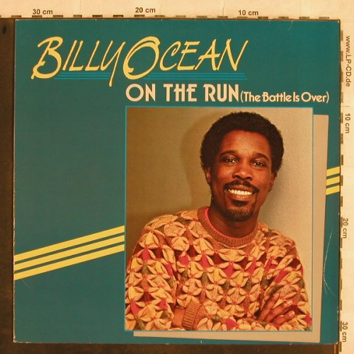 Ocean,Billy: On The Run../Caribbean Disco, Metronome(881 957-1), D, 1985 - 12inch - H9949 - 3,00 Euro