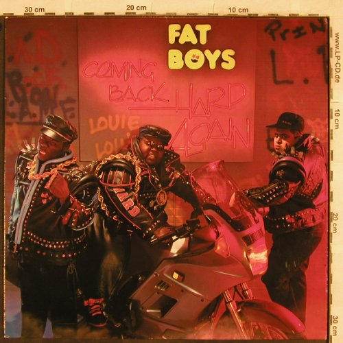 Fat Boys: Coming Back Hard Again, Polydor(835 809-1), D, 1988 - LP - X151 - 7,50 Euro