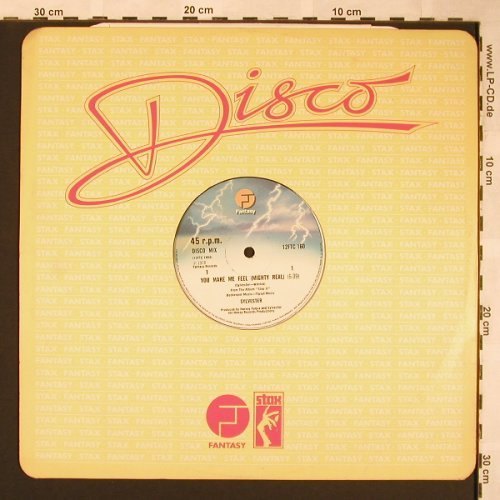 Sylvester: You Make Me Feel, FLC, Fantasy(12FTC 160), UK, 1975 - 12inch - X1543 - 6,00 Euro