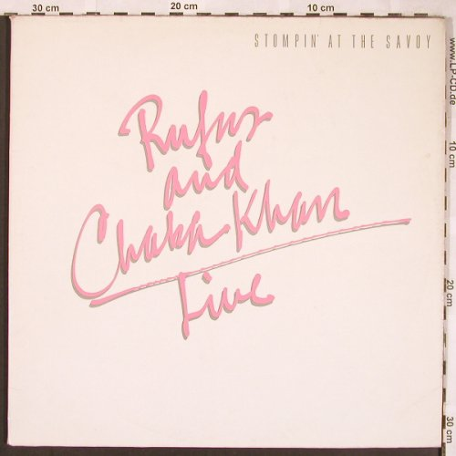 Rufus & Chaka Khan Live: Stomping At The Savoy,Foc, m-/vg+, WB(92-3679-1), D, 1983 - 2LP - X1699 - 7,50 Euro
