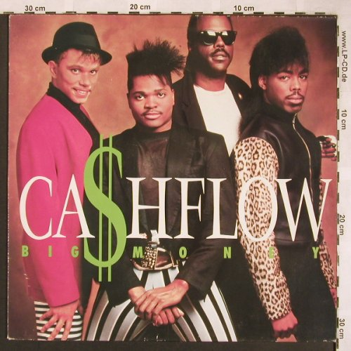 Cashflow: Big Money, Mercury(832 187-1), NL, 1988 - LP - X1723 - 5,00 Euro