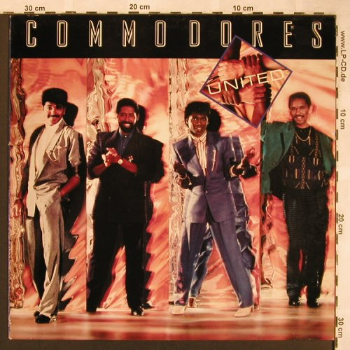 Commodores: United, Polydor(POLH 31), UK, 1986 - LP - X1751 - 5,00 Euro