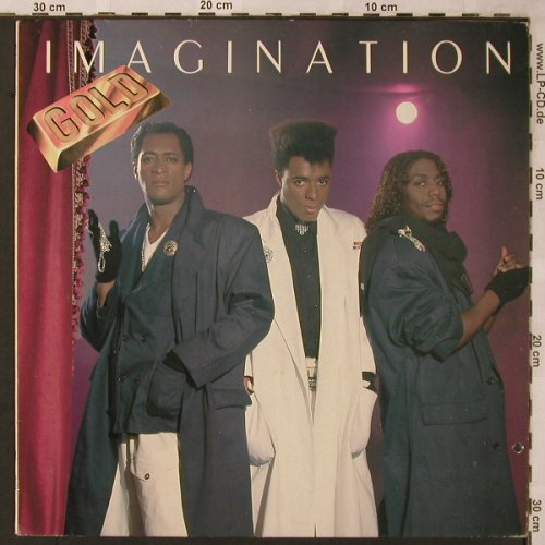Imagination: Gold, R&B(RBLP 18006), GR,co, 1983 - LP - X2163 - 5,00 Euro