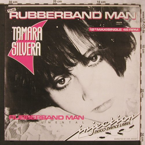 Silvera,Tamara: Rubberband Man*2, Injection(234.678), NL, 1985 - 12inch - X2188 - 4,00 Euro