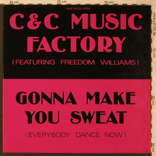 C & C Music Factory: Gonna Make You Sweat *3, CBS(656454 6), NL, 1990 - 12inch - X2194 - 4,00 Euro