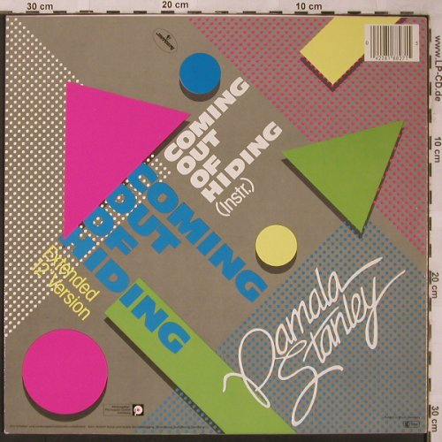 "Stanley,Pamala: Coming out of hiding, ext.12""/instr, Mercury(818 827-1Q), D, 1983 - 12inch - X2222 - 3,00 Euro"