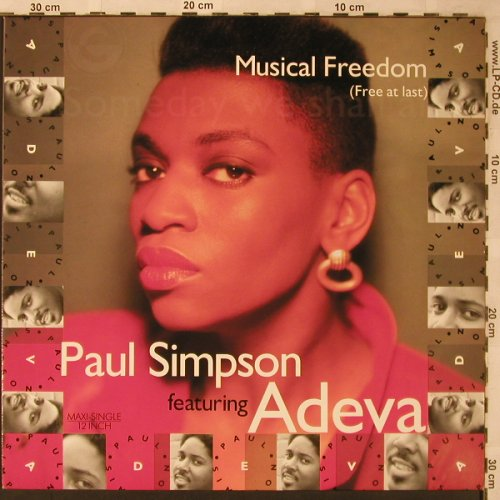 Simpson,Paul  feat. Adeva: Musical Freedom *3, Cooltempo/Chrysalis(612 214), D, 1988 - 12inch - X2228 - 3,00 Euro