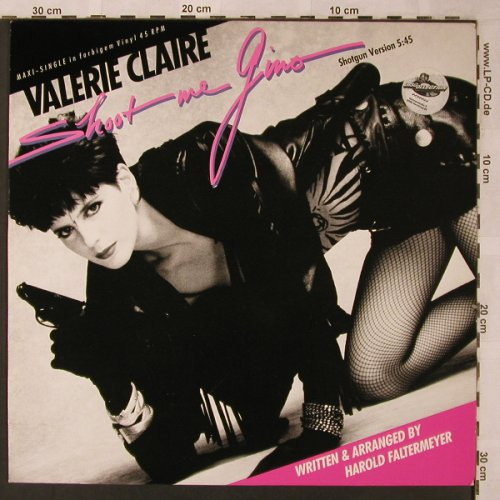 Claire,Valerie: Shoot me Gino *3, Blow Up(INT 125.542), D, 1985 - 12inch - X2229 - 3,00 Euro