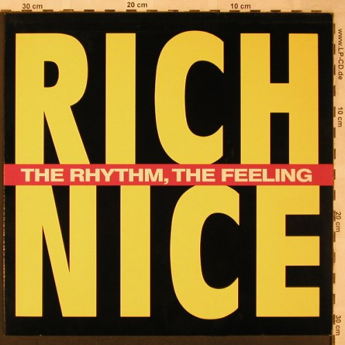 Rich Nice: The Rhythm, The Feeling *4, Motown(ZT 43458), D, 1990 - 12inch - X2246 - 4,00 Euro