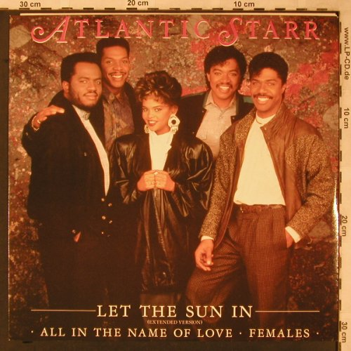 Atlantic Starr: Let The Sun In, WB (W8145T)(920 816-0), UK, 1987 - 12inch - X2263 - 3,00 Euro