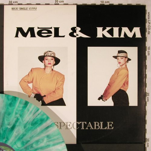 Mel & Kim: Respectable*3, MultyGreenViny, Blow Up(INT 125.580), D, 1987 - 12inch - X2270 - 3,00 Euro