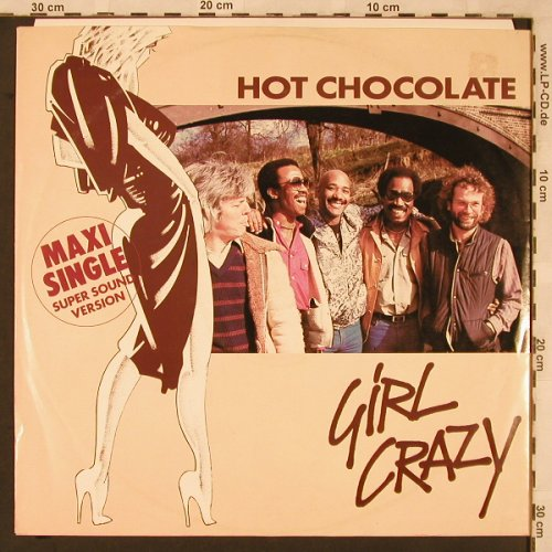 Hot Chocolate: Girl Crazy / Bed Games, RAK(K052-64 760), D, 1982 - 12inch - X2299 - 3,00 Euro