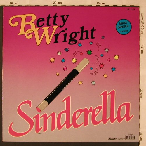 Wright,Betty: Sinderella*2, Jamaika/Bellaphon(120-21-011), D, 1985 - 12inch - X2316 - 4,00 Euro
