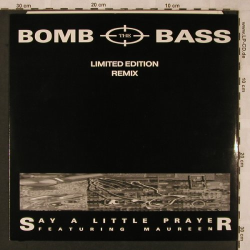 Bomb The Bass: Say Little Prayer+2,Lim.Ed.remix, RhythmKing(DOOD D123), D, 1988 - 12inch - X2319 - 3,00 Euro