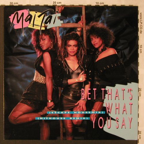Mai Tai: Bet That's What you Say *2, Injection(234.795), , 1987 - 12inch - X2633 - 4,00 Euro