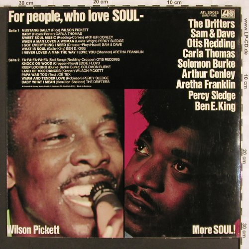 V.A.That's Soul: Wilson Pickett...Drifters, 14 Tr., Atlantic(ATL 20 023), D, 1973 - LP - X3117 - 7,50 Euro