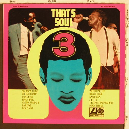V.A.That's Soul 3: King Curtis...Sweet Inspiration,Foc, Atlantic(ATL 30 009), D, 1968 - LP - X3118 - 7,50 Euro