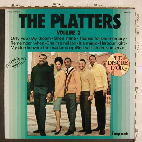 Platters: Volume 2 - Le Disque D'Or, Impact(6886 405), F,  - LP - X325 - 5,00 Euro