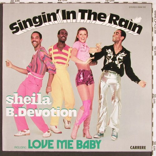 Sheila B.Devotion: Singin'in The Rain, m-/vg+, Carrere(2934 102), D, 1977 - LP - X3410 - 4,00 Euro