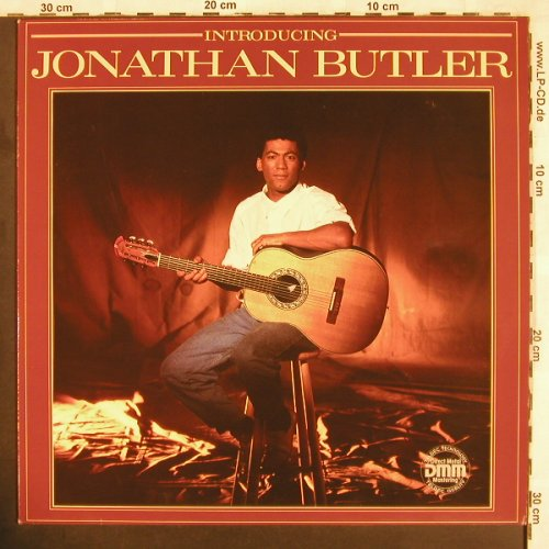 Butler,Jonathan: Introducing, Jive(6.26312 BL), D, 1985 - LP - X3652 - 5,50 Euro