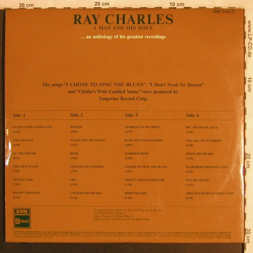 Charles,Ray: A Man and His Soul, Foc, m-/vg+, EMI Stateside(SMST 2226/27), D,  - 2LP - X4011 - 15,00 Euro